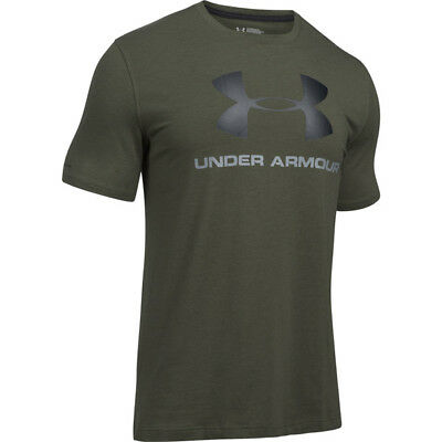 Under Armour Charged Cotton Sportstyle Logo T-Shirt green 1257615-331 Sport