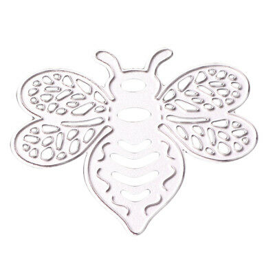 Bee Shape Metal Cutting Dies Stencil for Scrapbooking Paper Craft Embossing