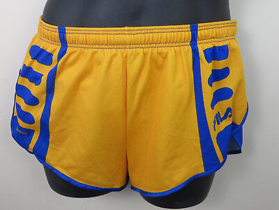 Fila 80s 90s Shorts Running Athletics Retro Sprinter Gym High Cut Mens Medium M