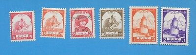 BURMA JAPAN OCCUPATION  - scott 2n44 // 2N63  VFMNH -  1943-1944