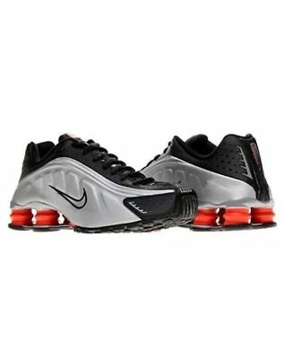 ... cheapest nib nike shox r4 mens running shoes black silver metallic  104265 065 size 9.5 8f3f7 f72e579b7