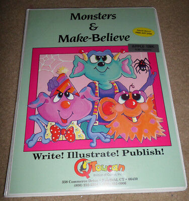 Monsters & Make-Believe For The Apple IIe with 128K Ram