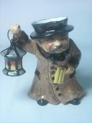 "Roy Kirkham NIGHT WATCHMAN Staffordshire 6.25"" Toby / Character Jug 16cm"