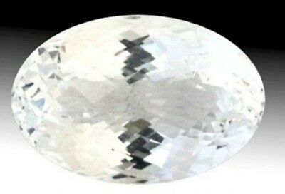 GOSHENITE 16 x 12 MM OVAL CUT ALL NATURAL RARE GEMSTONE AAA