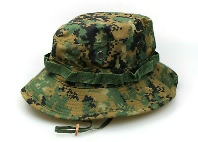 a0bc532de2d97 New Genuine Usmc Marine Marpart Woodland Digital Boonie Hat - No Logo Usa  Made