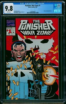 The Punisher: War Zone #1 CGC NM/M 9.8 White Pages