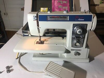 BROTHER PACESETTER XL 40 Embroidery Sewing Quilting Machine Free Magnificent Brother Quattro 6000d Sewing Embroidery And Quilting Machine