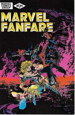 Marvel Fanfare Comic Book #2 Marvel Comics 1982 VERY FINE- UNREAD