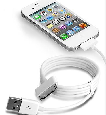 USB Sync Data Charging Charger Cable Cord for Apple iPhone 4 IPOD Accessories