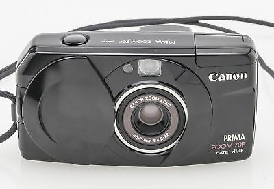 Canon Prima Zoom 70F Kompaktkamera Kamera Camera mit 35-70mm 1:4.2-7.8 Optik