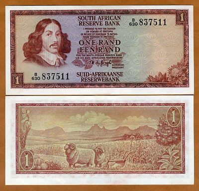 South Africa, 1 Rand, ND (1975), P-115b, UNC