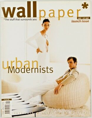 WALLPAPER magazine No.1 Debut # 1st First Launch Issue Sept Oct 1996 TYLER BRULE