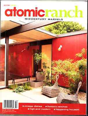 Atomic Ranch 8 Eichler Mid Century Modern Eames Early Issue Rare Winter 2005   T