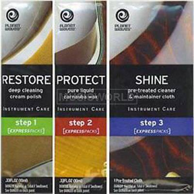 Planet Waves PW-PK Politur Express Pack - Restore - Protect - Shine
