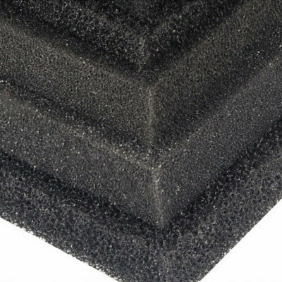 2/4cm 50x50cm Biological Cotton Filter Foam Pond Aquarium Fish Tank Sponge Pad *