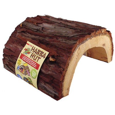 Zoo Med Habba Hut Reptile Natural Wood Bark Hide