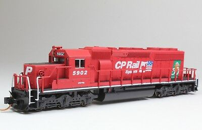 Custom painted KATO N SD40-2 snoot Canadian Pacific CP Smokey 5902