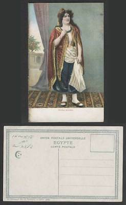 Egypt Old Postcard Femme Orientale Oriental Woman Lady Traditional Costumes 9687