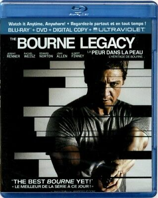 The Bourne Legacy + DVD + Digital Copy HTF French Canadian Edition Blu-ray (New)