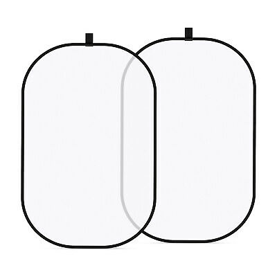 "Neewer 47x71"" White Lighting Reflector Pop-out Foldable Soft Diffuser Disc Panel"