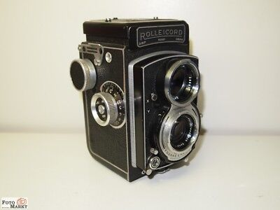Rolleicord V (K3C) Lens Xenar 3,5/ 75mm TLR 6x6 Camera (Good Condition)