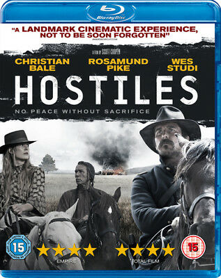 Hostiles Blu-Ray (2018) Rosamund Pike ***NEW***