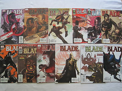 Blade :it Takes One To Kill One:complete 12 Issue Series.guggenheim,chaykin.2006