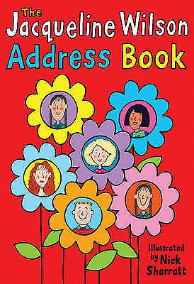 Very Good, Jacqueline Wilson Address Book, Wilson, Jacqueline, Book