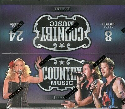 Panini Country Music Retail Trading Cards 20 Box Case Blowout Cards