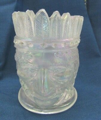 Art Glass Friendly Joe St Clair Toothpick Holder