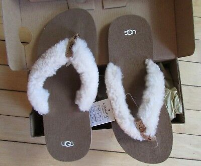 53e9921caa4 UGG SANDALS BIG Kids 5 Joblyn Leather Strappy Wedge Heel Shoes ...