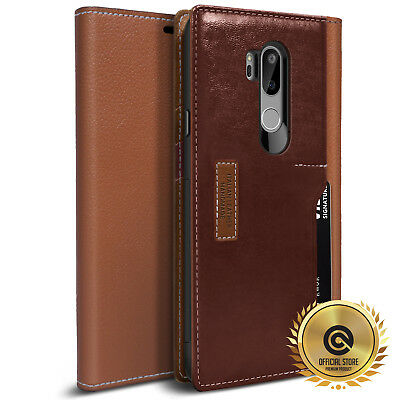 OBLIQ® for LG G7 ThinQ [K3 Wallet] 4 Card Hand Made Premium Leather Case Cover
