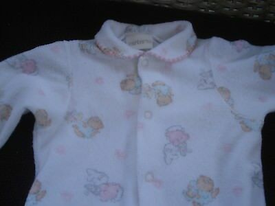 Carter's Infant Girl Vintage Footed Sleeper Size 6-9 Months EUC