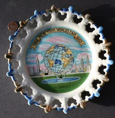 1964-65 New York World's Fair U.S. Steel Unisphere Spoked Ship's wheel plate!