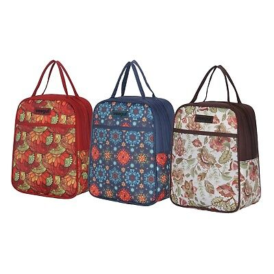 Recycle Cooler Insulated Lunch Bag for Family Women Men Kids Prep Meal Tote Bag