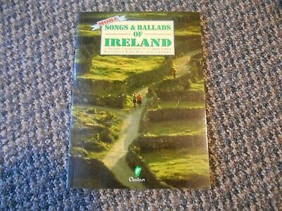 Vintage 1993 40 SONGS & BALLADS OF IRELAND 2nd Collection w/ Words Music Guitar