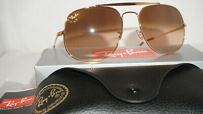 08959c6397 RAY BAN NEW Sunglasses GENERAL Copper Pink Brown Gradient RB3561 9001A5 57  145
