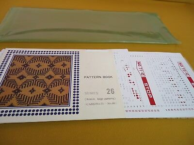 SINGER CARDMATIC Punched Cards Pattern Book Series 26 Knit-in FAIR ISLE #5941