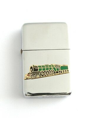 Flying Scotsman Windproof Petrol Lighter FREE ENGRAVING Gift 135