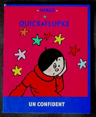 "Quick & Flupke - Mini Album ""Un Confident""  RARE!"
