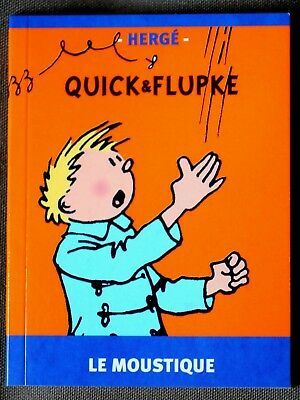 "Quick & Flupke - Mini Album ""Le Moustique""  RARE!"