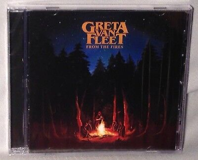 CD GRETA VAN FLEET From The Fires (2017, Republic) NEW MINT SEALED