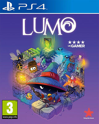 Lumo (Ps4)  Brand New And Sealed - In Stock - Quick Dispatch - Free Uk Postage