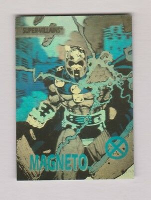 1992 Impel X-Men Series Marvel Hologram Chase Card #XH-4 Magneto