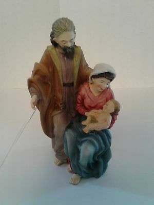 Toriat Handpainted Figurine by ANRI - Holy Family Discontinued