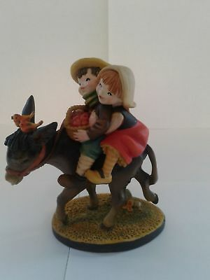 Toriat Handpainted Figurine by ANRI - Hold On Discontinued