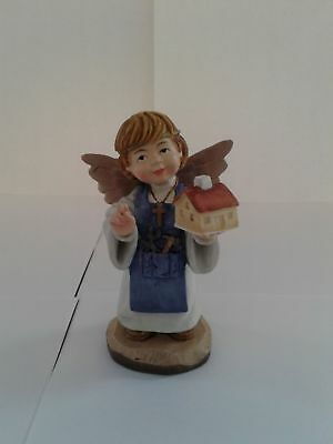 Toriat Handpainted Figurine by ANRI - Home Blessing Angel Discontinued