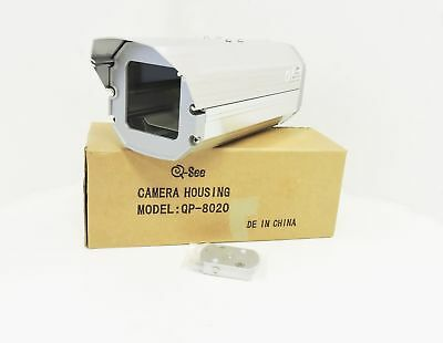 CCTV  QP-8020 Security Camera Housing Unit Silver