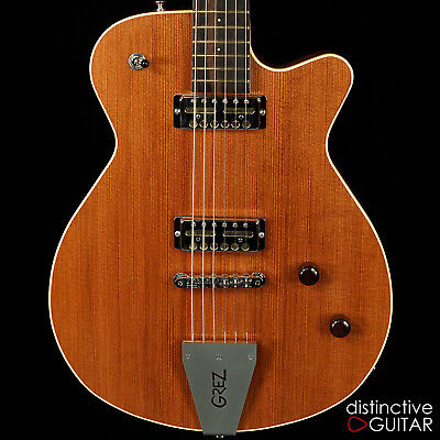 Brand New Grez Mendocino Semi Hollow Redwood Electric Guitar Lollar Goldfoils