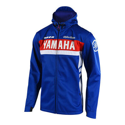 2018 Troy Lee Designs TLD Yamaha RS1 Tech Jacket Blue Off Road Moto 7266453